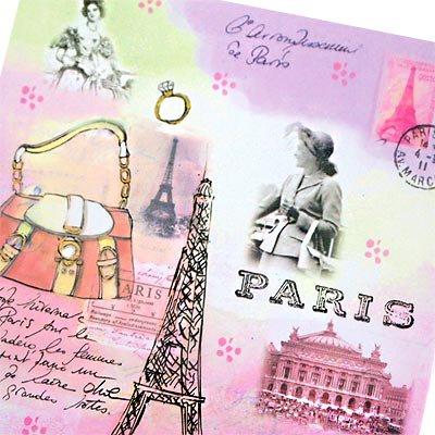 フランス エッフェル塔 ポストカード(J'aime Paris B)【画像3】