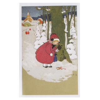 フランス クリスマスポストカード (Joyeux Noel L)