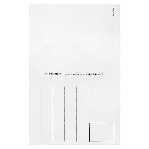 フランスポストカード (arroser des fleurs)【画像4】