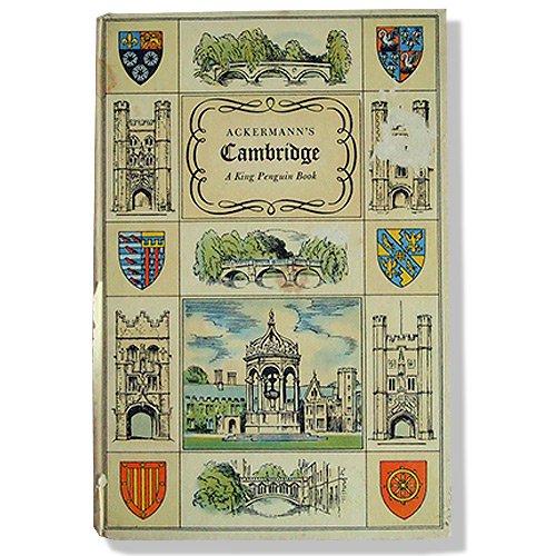 イギリス 1815年 ACKERMANN'S CAMBRIDGE(ビンテージ本)