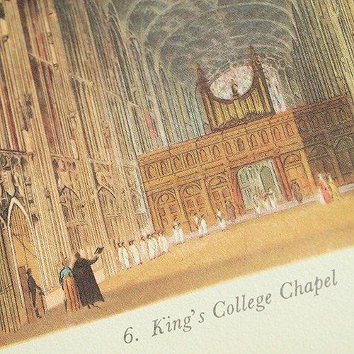 イギリス 1815年 ACKERMANN'S CAMBRIDGE(ビンテージ本)【画像3】