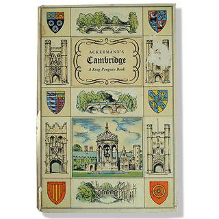 イギリス 雑貨 イギリス 1815年 ACKERMANN'S CAMBRIDGE(ビンテージ本)