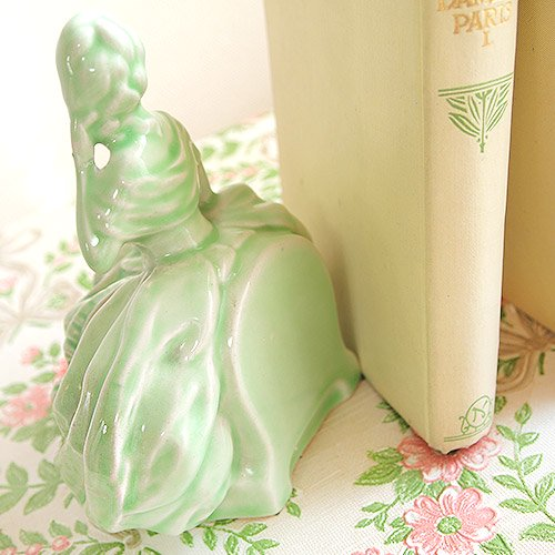 イギリス ヴィンテージ ヴィクトリアン 陶器製ブックエンド 【送料無料】【画像2】
