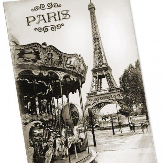 フランス エッフェル塔 ポストカード カルーセル メリー・ゴー・ラウンド(Tour Eiffel et carrousel)【画像3】