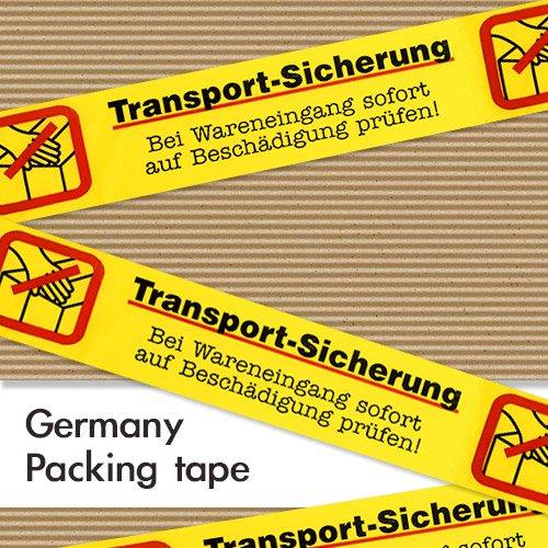 ドイツ パッキングテープ 【Transport-Sicherung/トランスポートセキュリティ】【画像2】
