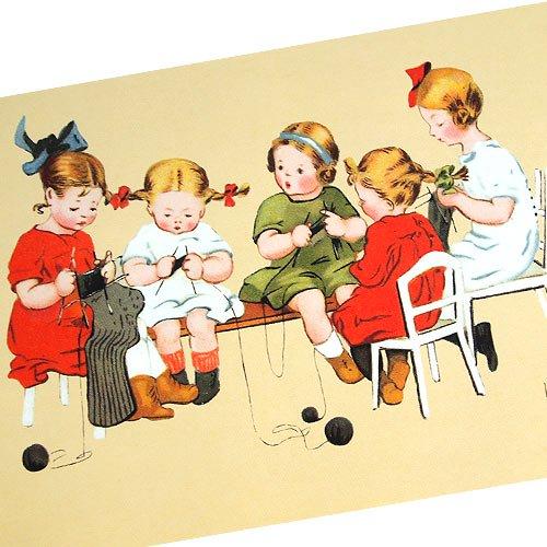 フランスポストカード (tricotage)【画像2】