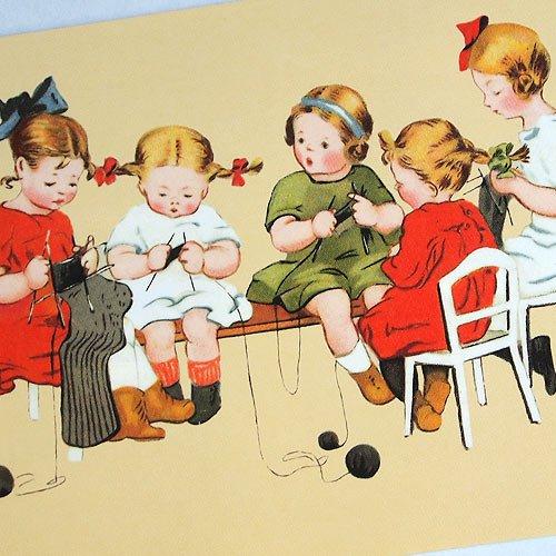 フランスポストカード (tricotage)【画像3】