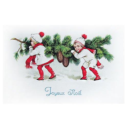 フランスポストカード (Joyeux Noel M)