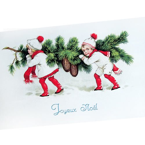 フランスポストカード (Joyeux Noel M)【画像2】