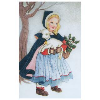 クリスマス(Xmas) 輸入 雑貨 フランス クリスマスポストカード (Joyeux Noel N)