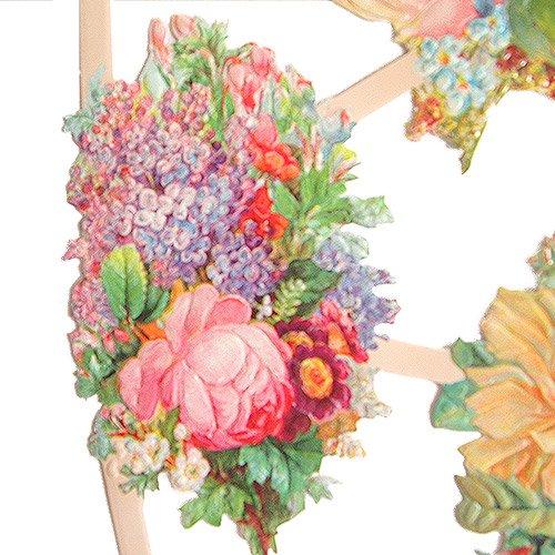 ドイツ クロモス【M】<バラの花束 A-type>【画像2】