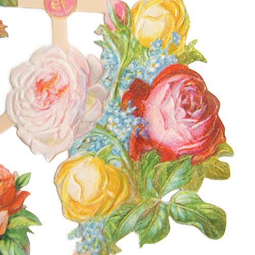 ドイツ クロモス【M】<バラの花束 A-type>【画像3】