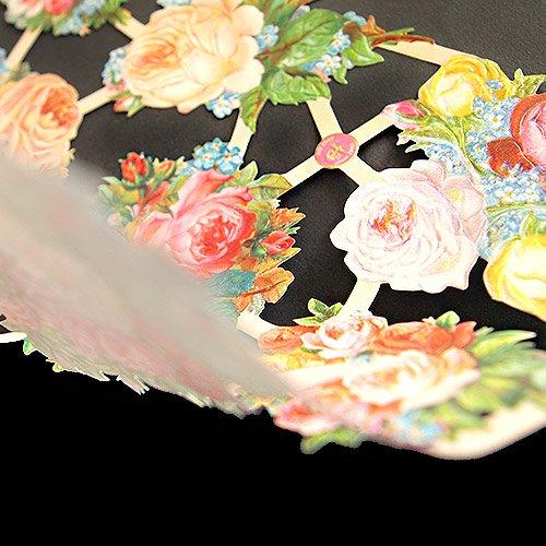 ドイツ クロモス【M】<バラの花束 A-type>【画像4】