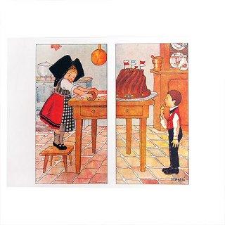 ポストカード/絵本・挿絵 系 フランスポストカード (ハンジ HANSi Kouglof)