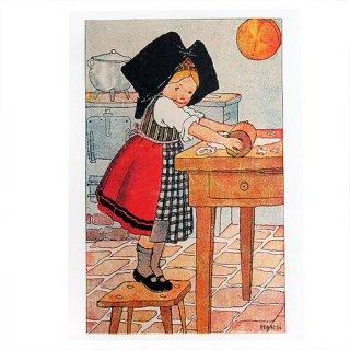 ポストカード/絵本・挿絵 系 フランスポストカード (ハンジ HANSi fille)