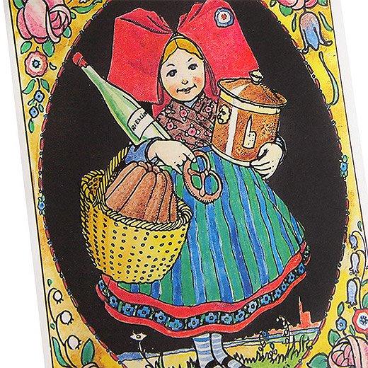 フランスポストカード (ハンジ HANSi La Fleur)【画像2】