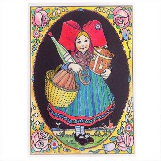 フランスポストカード (ハンジ HANSi La Fleur)
