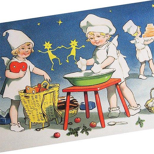 フランスクリスマス ポストカード (Recettes secretes A)【画像2】
