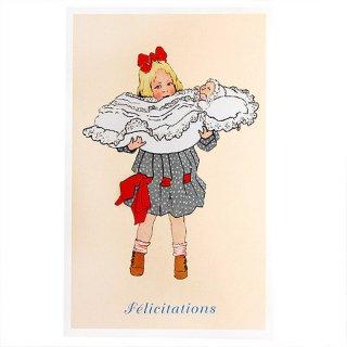 バースディー フランスポストカード (felicitations)