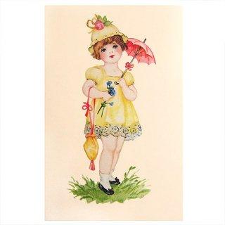 ビクトリアン フランスポストカード (Robe jaune A)