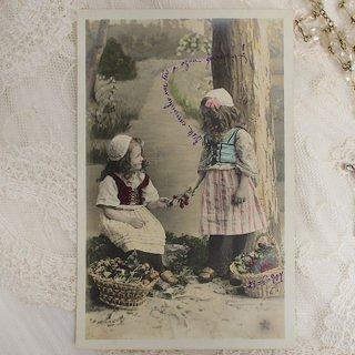 ポストカード フランス アンティーク ポストカード【bonne annee C】