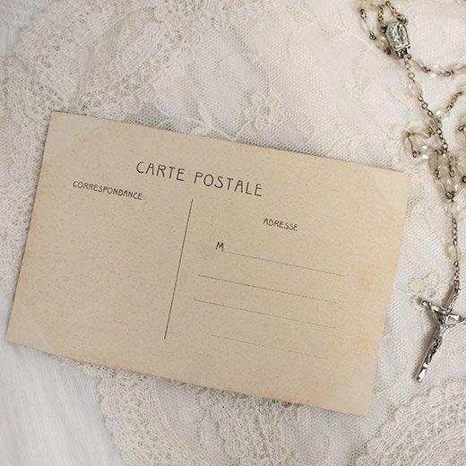 フランス アンティーク ポストカード【deux personnes B】【画像5】
