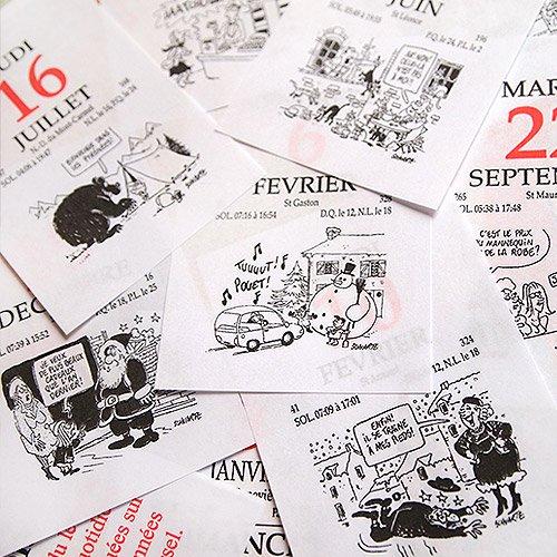 フランス 日めくりカレンダー