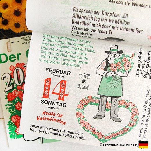 ドイツガーデニング日めくりカレンダー 2016  BRUNNEN (ブルネン) 【入荷しました!】【画像5】