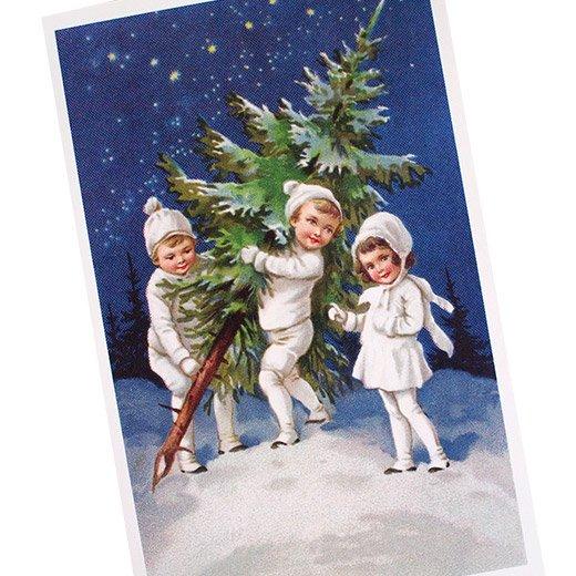 フランス クリスマス ポストカード (Nuit de Noel 2)【画像2】