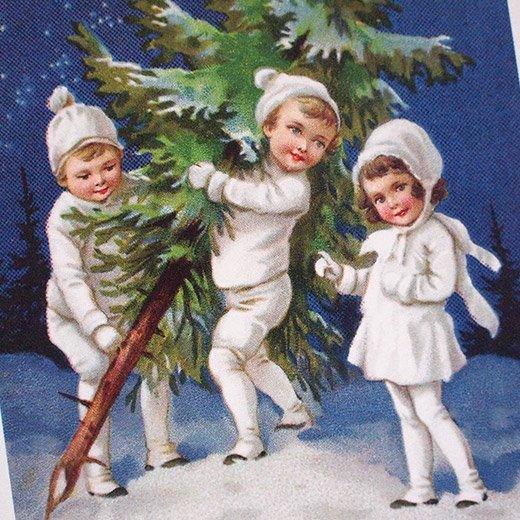 フランス クリスマス ポストカード (Nuit de Noel 2)【画像3】