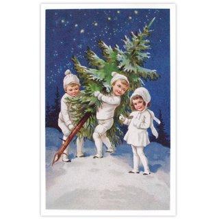 フランス クリスマス ポストカード (Nuit de Noel 2)
