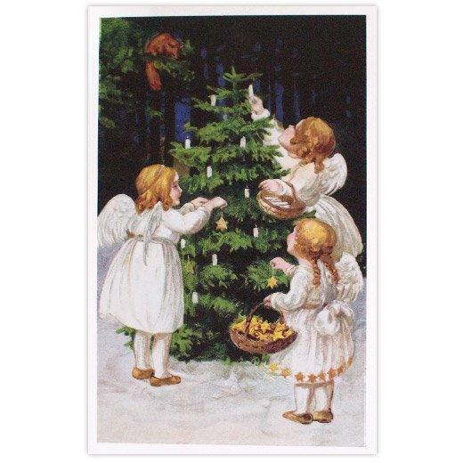 フランス クリスマス ポストカード (Nuit de Noel 4)