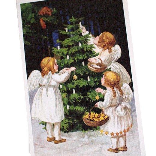 フランス クリスマス ポストカード (Nuit de Noel 4)【画像2】
