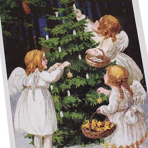 フランス クリスマス ポストカード (Nuit de Noel 4)【画像3】