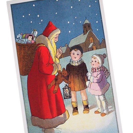 フランス クリスマスポストカード (Nuit de Noel 5)【画像2】