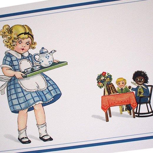フランスポストカード おままごと チェックワンピース(dinette)【画像3】