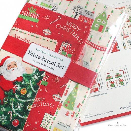 Cavallini & Co. カバリーニ クリスマス ラッピングセット【ヴィンテージ クリスマスA】【画像5】