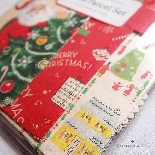Cavallini & Co. カバリーニ クリスマス ラッピングセット【ヴィンテージ クリスマスA】【画像6】