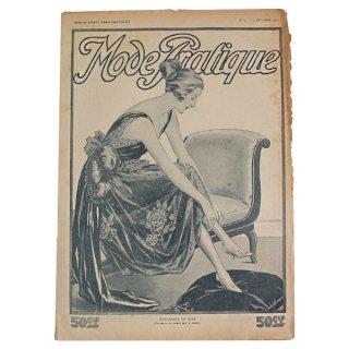 フランス La mode Pratique(アンティーク モード誌/ドレス)
