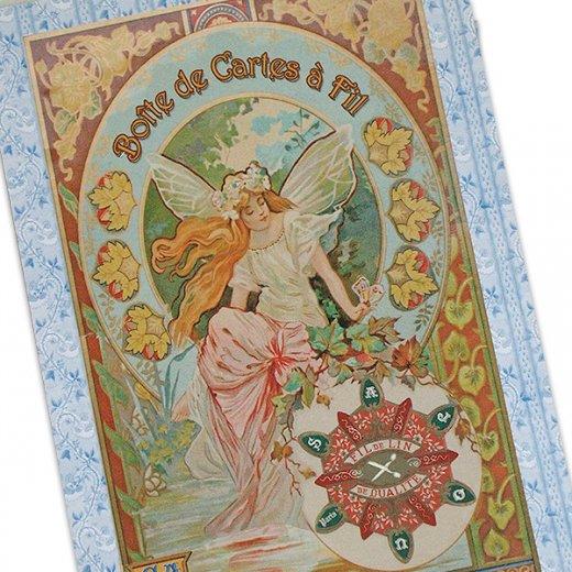 フランス SAJOU ポストカード【cpu-4 boute de cares a fil】【画像2】