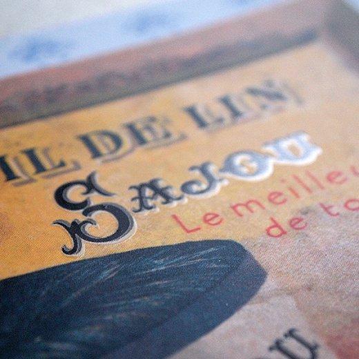 フランス SAJOU ポストカード【fil de lin】【画像3】