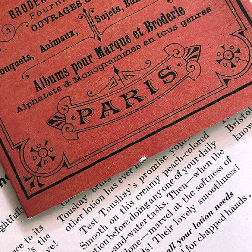フランス SAJOU 刺繍図案 911【PARIS】【画像8】