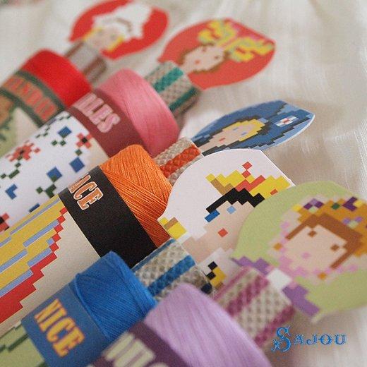 フランス SAJOU (ドール 糸巻き)【doll】【画像2】