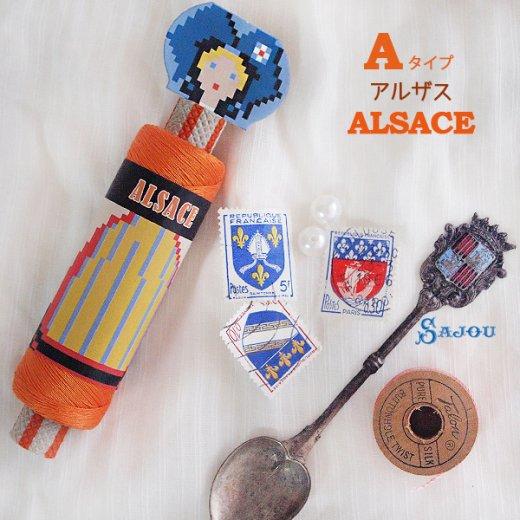 フランス SAJOU (ドール 糸巻き)【doll】【画像4】