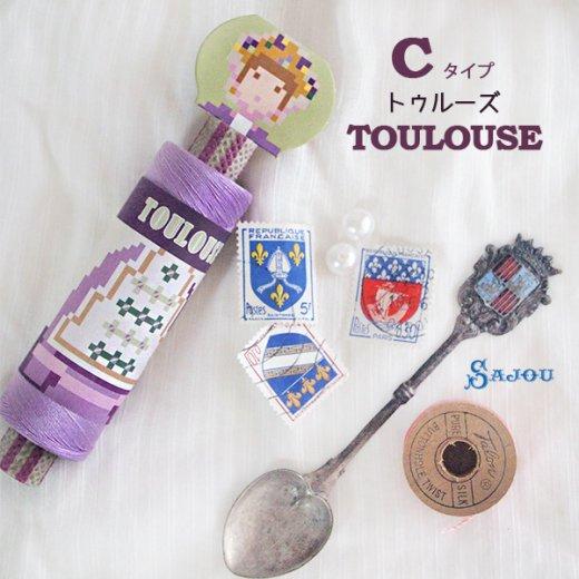 フランス SAJOU (ドール 糸巻き)【doll】【画像6】