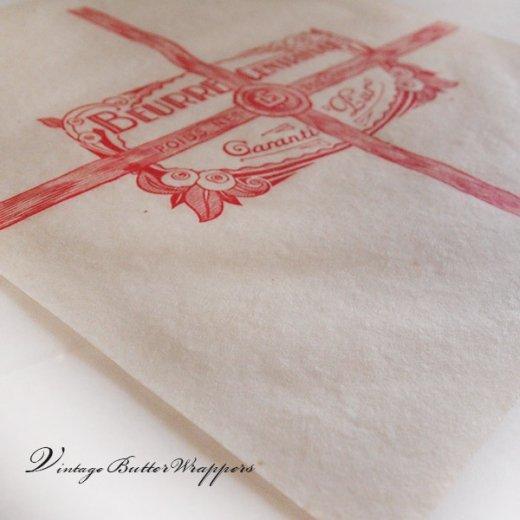 フランス 1940' アンティーク紙【Vintage Butter Wrappers】【画像2】
