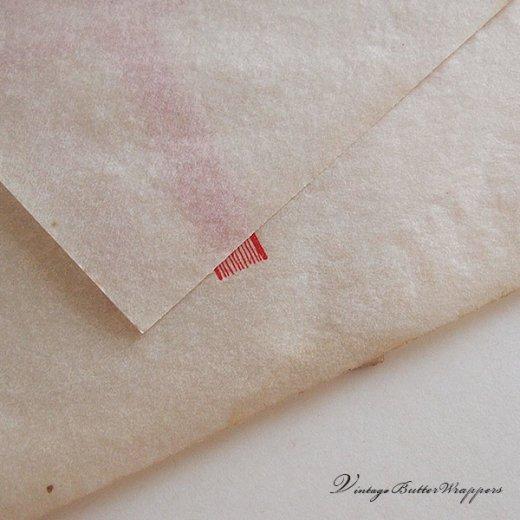 フランス 1940' アンティーク紙【Vintage Butter Wrappers】【画像5】
