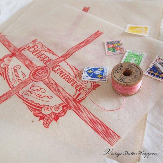 フランス 1940' アンティーク紙【Vintage Butter Wrappers】【画像6】