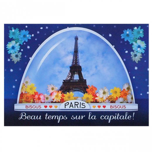 フランスポストカード (boule ? neige)