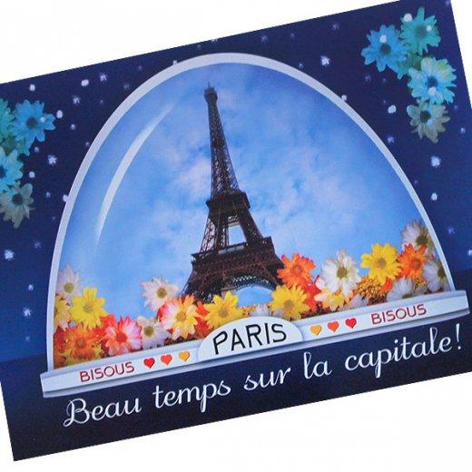 フランスポストカード (boule ? neige)【画像2】